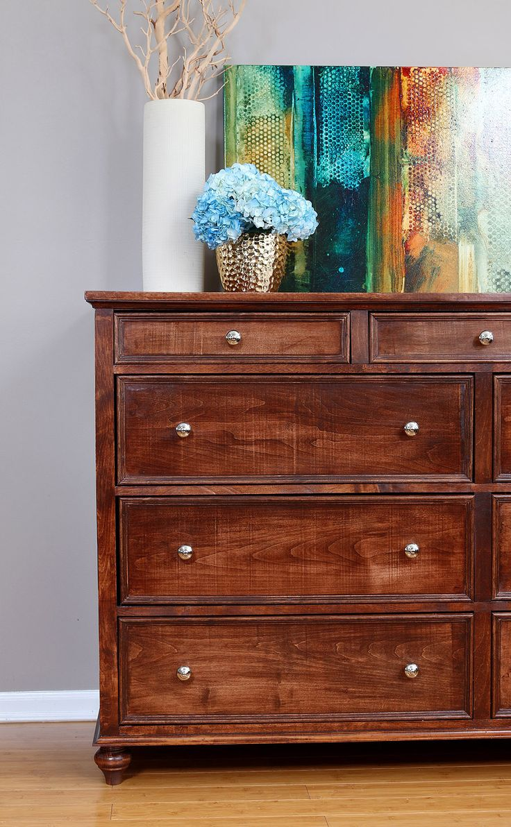 Learn how to build a DIY dresser with 9 drawers, featuring an in-depth tutorial with free design plans by Jen Woodhouse of the House of Wood.