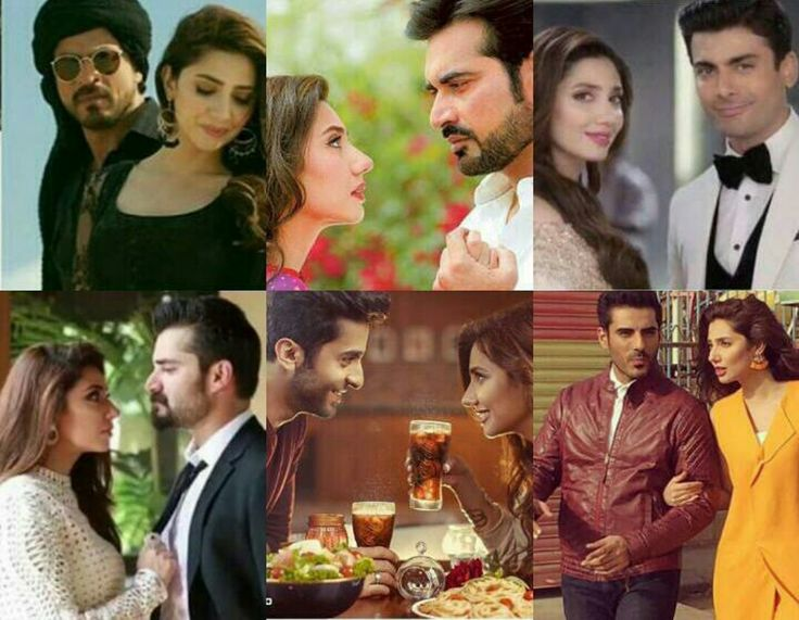 Mahira Khan made a Beautiful onscreen couple with all these amazing actors ❤ which couple did you like the most?....
