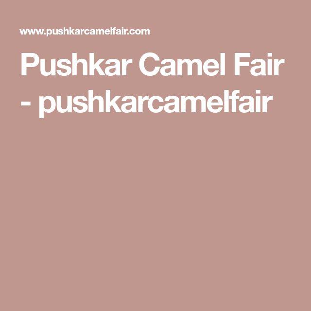 Pushkar Camel Fair - pushkarcamelfair