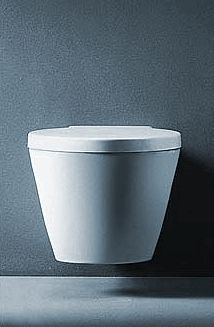 scavenger duravit starck 2 wall mounted toilet w geberit concealed tank and carrier for