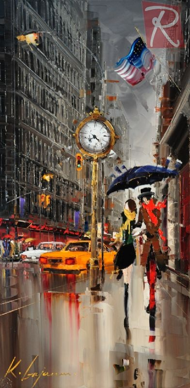 Fifth Avenue New York - by KAL GAJOUM