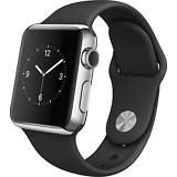 [$199.99 save 61%] Apple Watch MJ3U2LL/A 42mm Smartwatch (Stainless Steel Case Black Sport Band) #LavaHot http://www.lavahotdeals.com/us/cheap/apple-watch-mj3u2ll-42mm-smartwatch-stainless-steel-case/137373