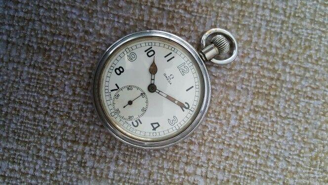 Omega Military Pocket Watch Cal 38.5 circa 1943-1944