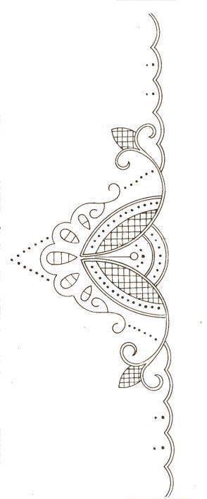 Idee für Klöppelbriefe, gesehen auf fb, Hersteller und Fotograf mir nicht bekannt