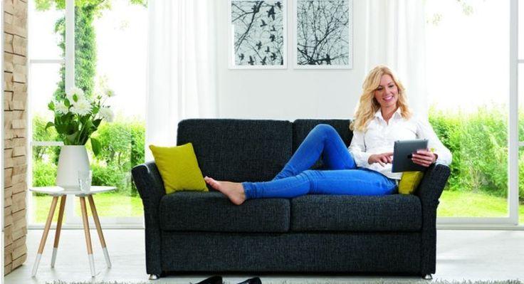 Schön Restyl Schlafsofa Cleo Molto Faltbett Sofa Mit Kaltschaummatratze DL 130 In  Möbel U0026 Wohnen, Möbel, Sofas U0026 Sessel | EBay!