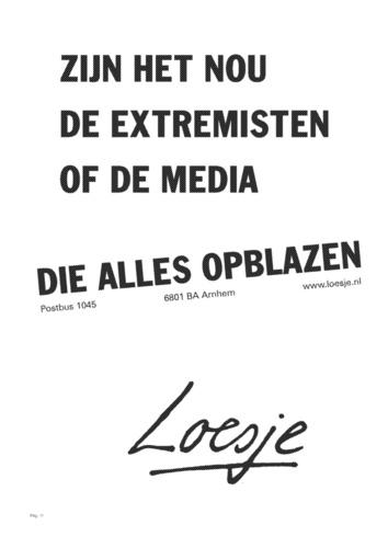 Extremisten