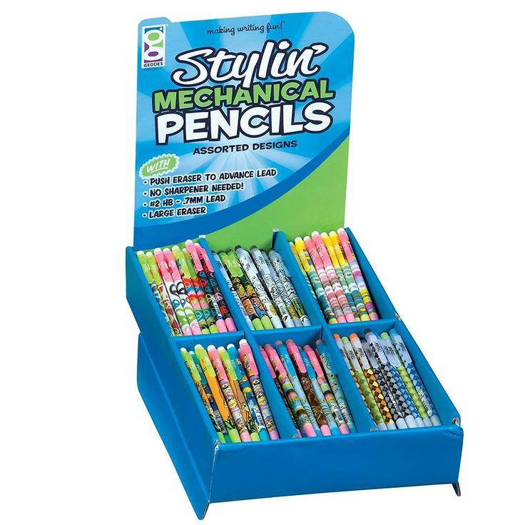 Stylin' Mechanical Pencil Super Assortment - 216 super ...