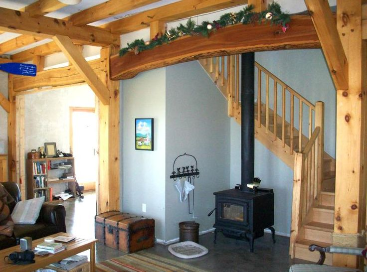 This Is The Inside Of A Cabin Featuring Wood Colored Wooden Boards.