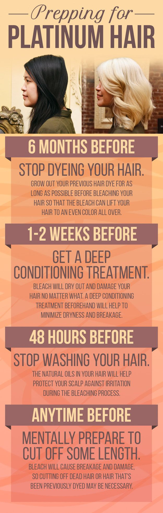 First things first, there are a few things to consider. One main concern is the potential damage your hair will face.