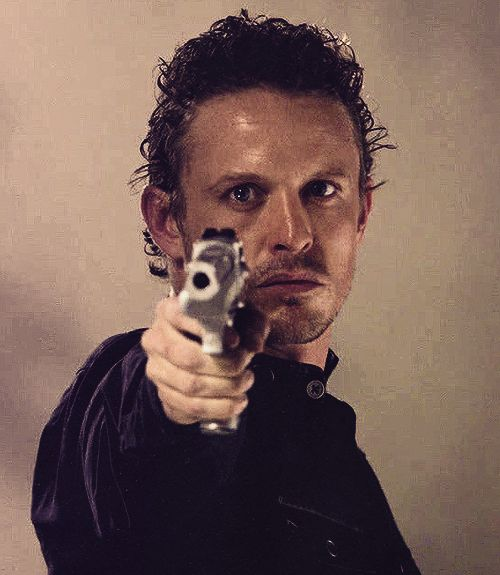 "Sebastian ""Bass"" Monroe (David Lyons) - Revolution has anyone ever noticed how his hair is always sweaty? It's kinda hot."