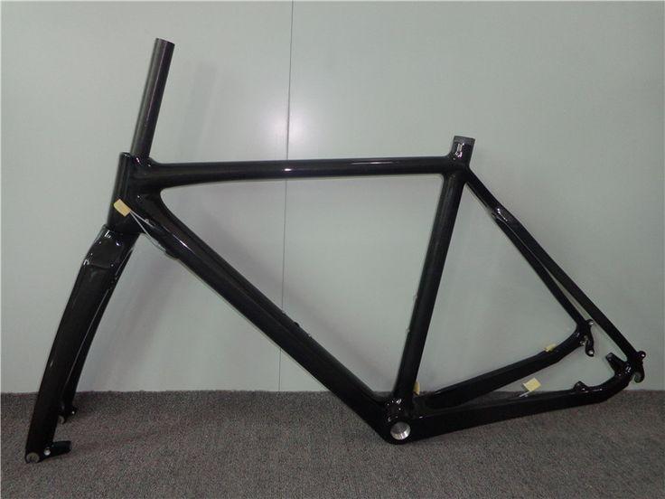 Carbon Bicycle Matt Carbon Cyclocross Frame Carbon Road Frame cadre de cyclocross marco de los cyclocross 51cm/53cm/55cm/57cm