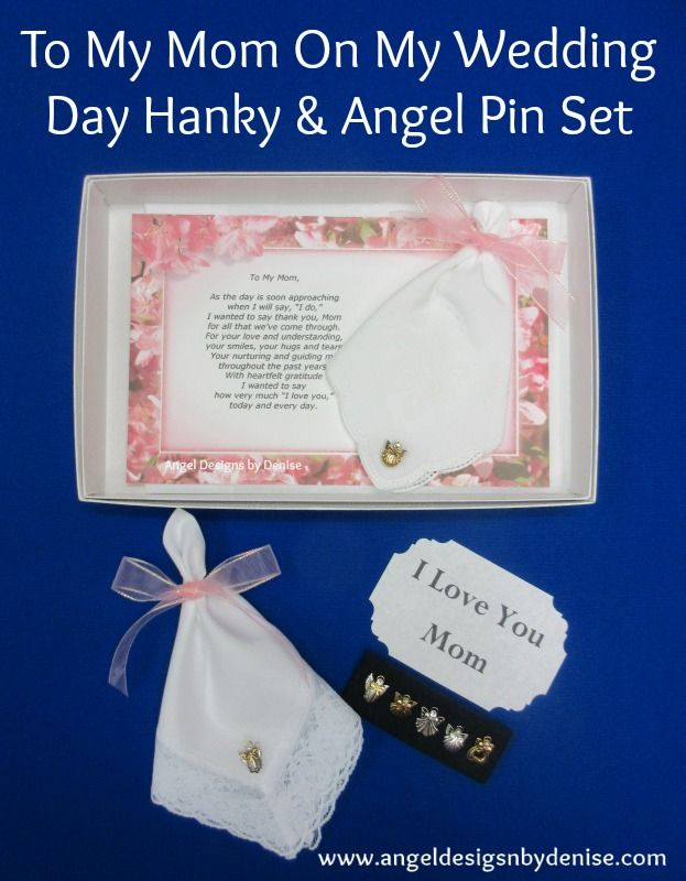To Mom on My Wedding Day Gift Set is a perfect gift to give to your ...