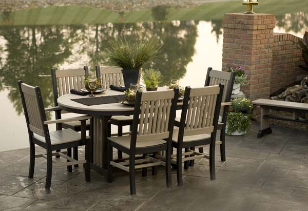 12 Best Poly Lumber Recycled Plastic Patio Furniture