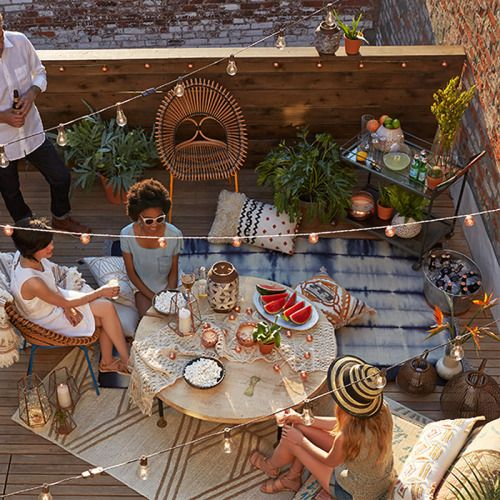 25 best ideas about rooftop party on pinterest rooftop for Terrace party
