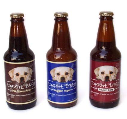 Doggie Brew Dog Beers: image via bellapoochie.com