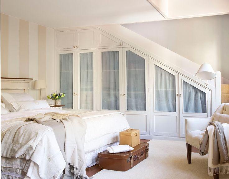 Las 25 mejores ideas sobre puertas para armarios - Soluciones para dormitorios pequenos ...
