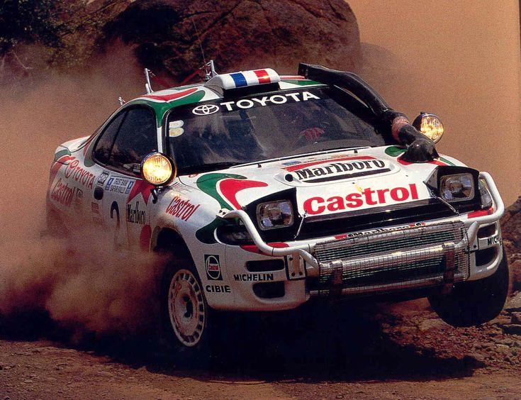 Auriol-Occelli su Toyota Celica, 3° assoluti al Safari '94.