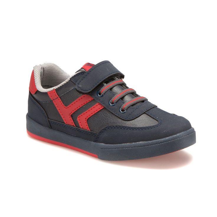 Yellow Kids YK901 Lacivert Kırmızı Erkek Çocuk Sneaker - Spor Ayakkabı - Tüm Erkek Çocuk Ürünleri - Çocuk