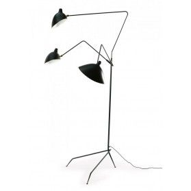 serge mouille three arm floor lamp less expensive version of serge. Black Bedroom Furniture Sets. Home Design Ideas