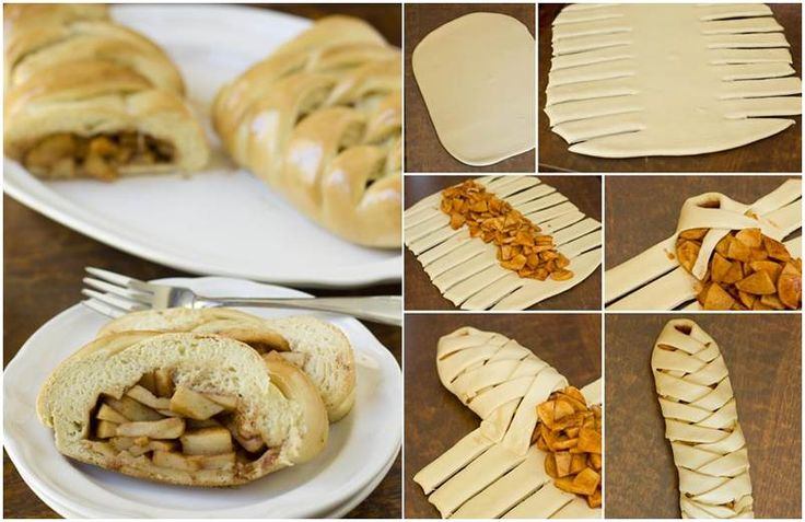 How to DIY Delicious Apple Braided Bread | iCreativeIdeas.com Follow Us on Facebook --> https://www.facebook.com/icreativeideas