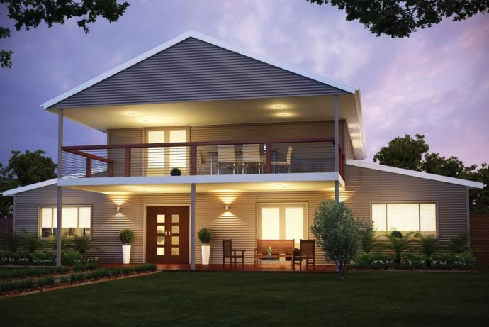 Open Plan Steel Kit Homes in Australia » Wide Span Sheds