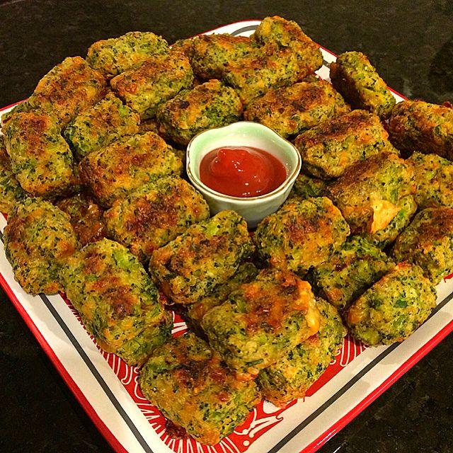Broccoli Bites Recipe - coasterkitchen - Dayre