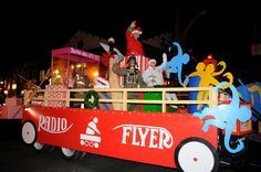 Toys from 1970s Christmas Parade floats | Greenlawn FD Radio Flyer holiday toys float won first place for FDs ...