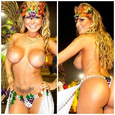 Musas do Carnaval  no Brasil