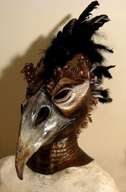 Makeup Design: Full Head Masks by vancouverfilmschool, via Flickr