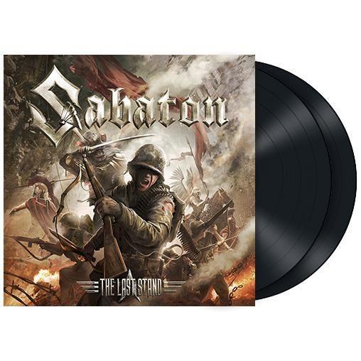 """L'album dei #Sabaton intitolato """"The Last Stand"""" su doppio vinile nero. Edizione limitata."""