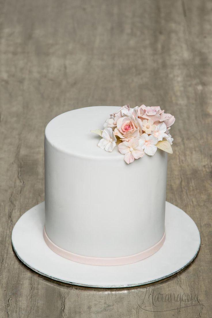 Elza design cake by Marangona | sugarflowers | covered by fondant | www.marangona.hu