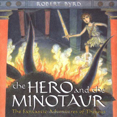 The Hero and the Minotaur by Robert Byrd http://www.amazon.com/dp/0525473912/ref=cm_sw_r_pi_dp_BoY.ub0JMC2ZS