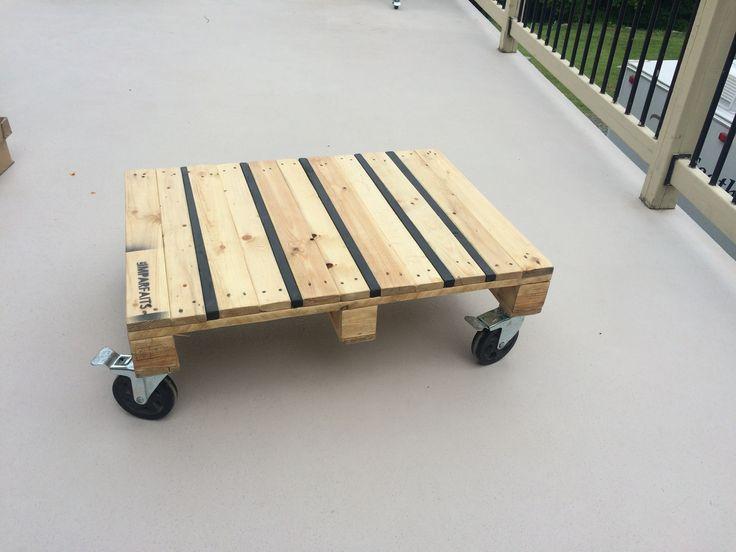 table basse en bois de palette #lesimparfaits