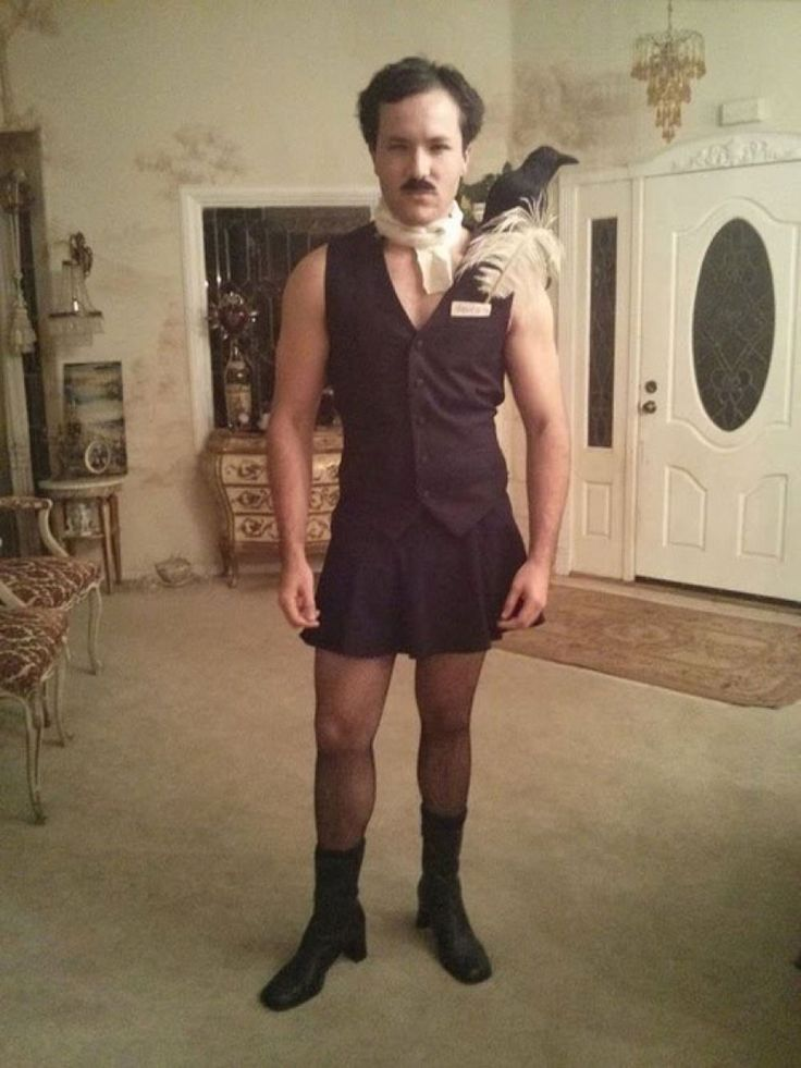 It's about time men wear ridiculous slutty costumes lol