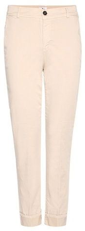 7 For All Mankind Cropped Cotton Chinos