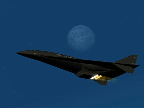 Hypersonic Aurora / top secret technology so still highly classified / the strange pulsing effect the new technology engines generate will revolutionise aircraft designs for latest generation air defence ✅