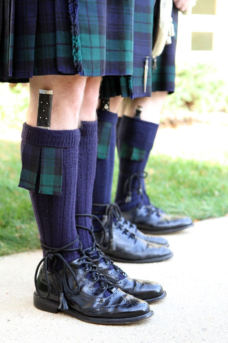 A subtler tartan requires a simpler sgian dubh. Otherwise, you know, you might look silly in your man skirt and knee socks.