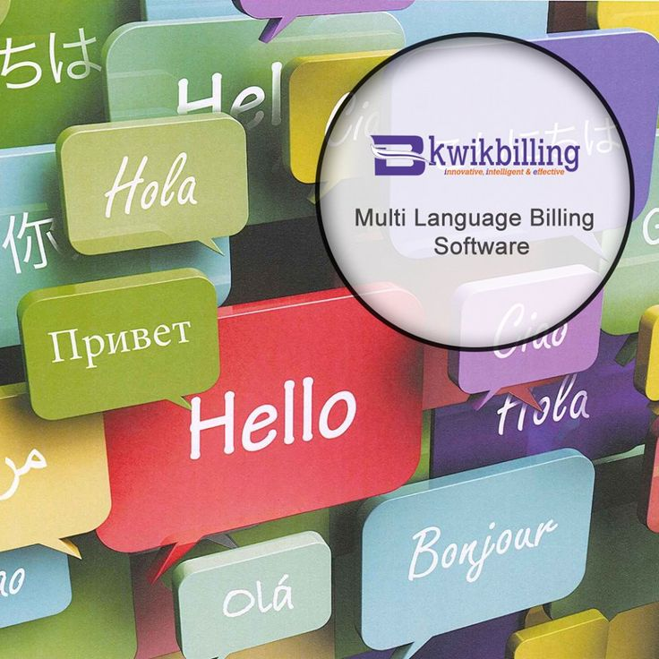 Contact Us for #Multi-Language #Billing Software Services by #Kwikbilling - http://goo.gl/fNpMLK