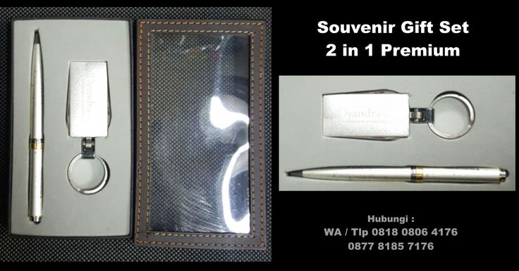 Souvenir Gift Set 2 in 1 Premium – pulpen ganci kode 01
