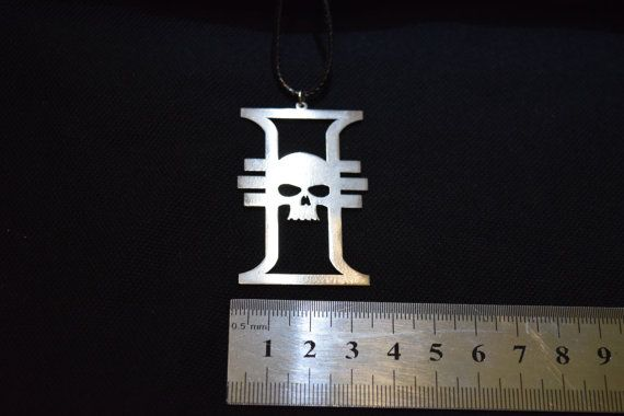 Price 1.9 $ usd. Inquisition Pendant Stainless Steel Imperium от Warhammer40kShop