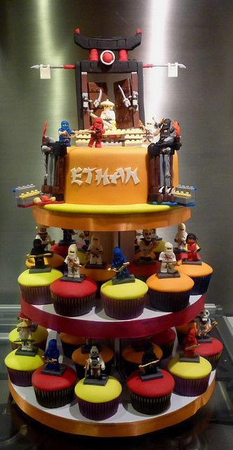 Lego Ninjago Cupcake Tower Little Quot Miss Quot Oc S Kitchen