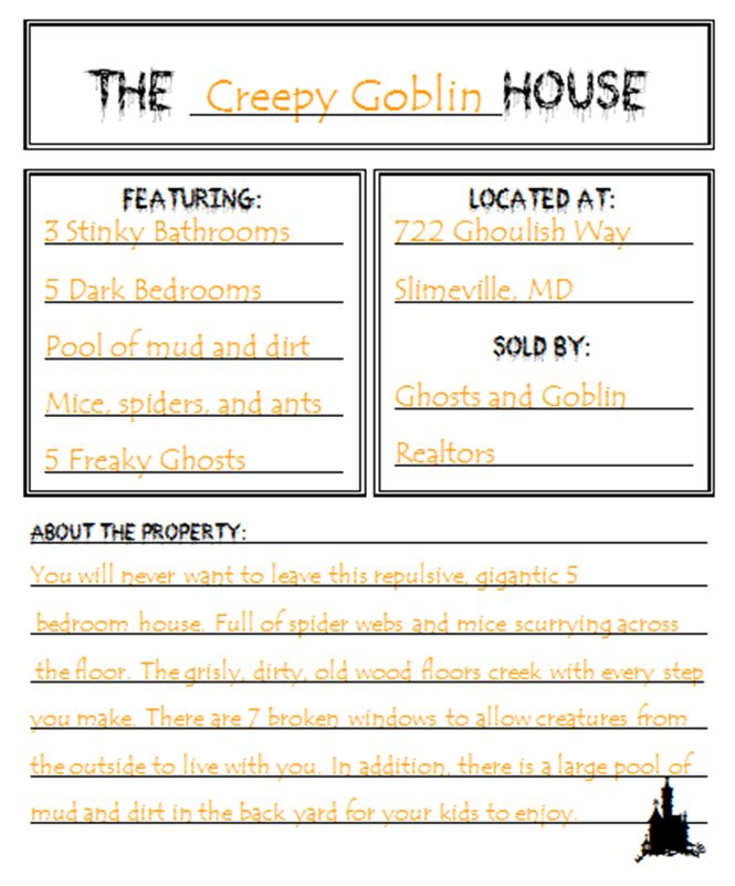 descriptive essay of a haunted house Haunted house - pd,,haunted house: descriptive and narrative writing exercises,978-1-59363-220-5,language arts,other.