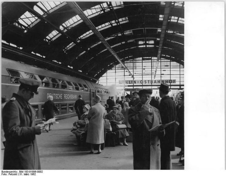 1962 Berlin Ostbahnhof