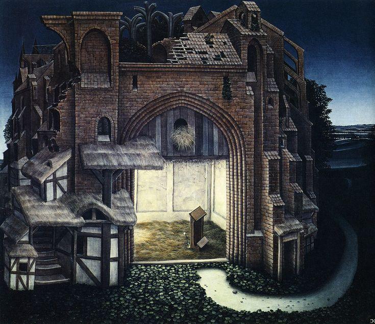 The Silence - Jacek Yerka