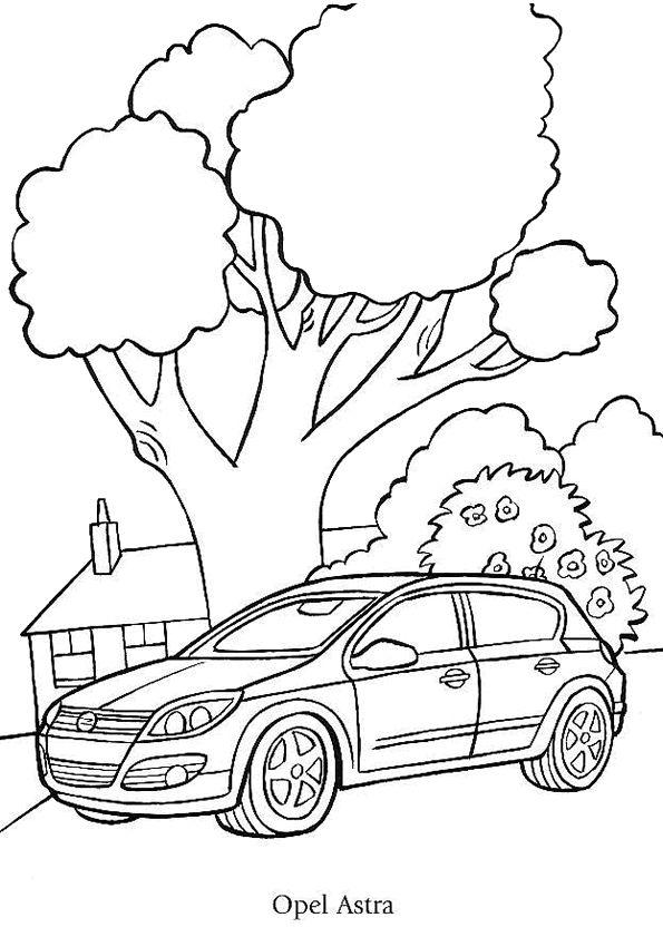 Populaire Les 20 meilleures images du tableau coloriages voitures sur  BZ44