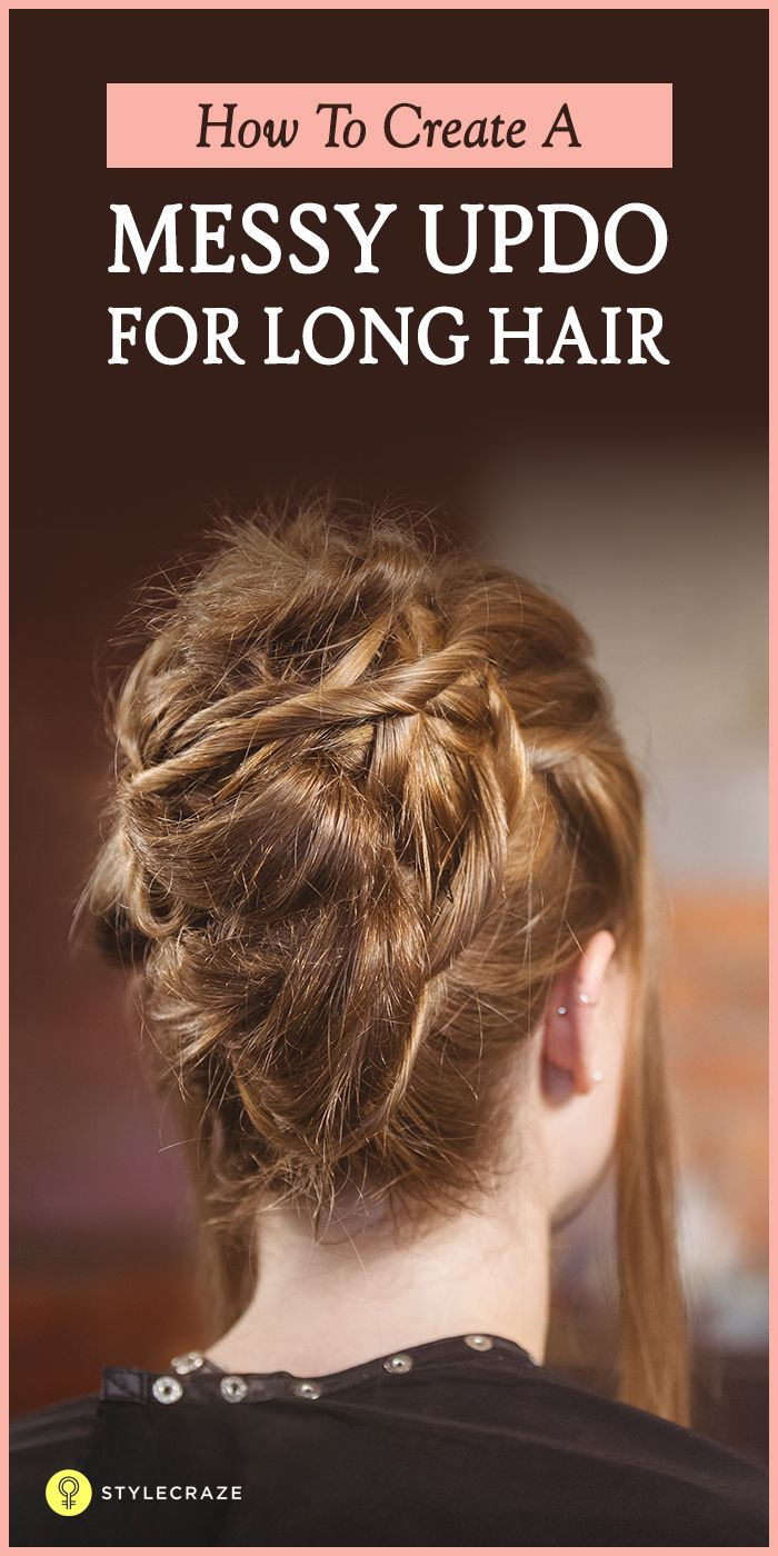 Are you obsessed with the messy updo but not sure how to style your long locks? And are you searching for a solution? Then you have arrived at the right place! We've found out the ten easy messy updos for long hair to help you out! Read on to know the secret to looking artfully disheveled!  #LongHair