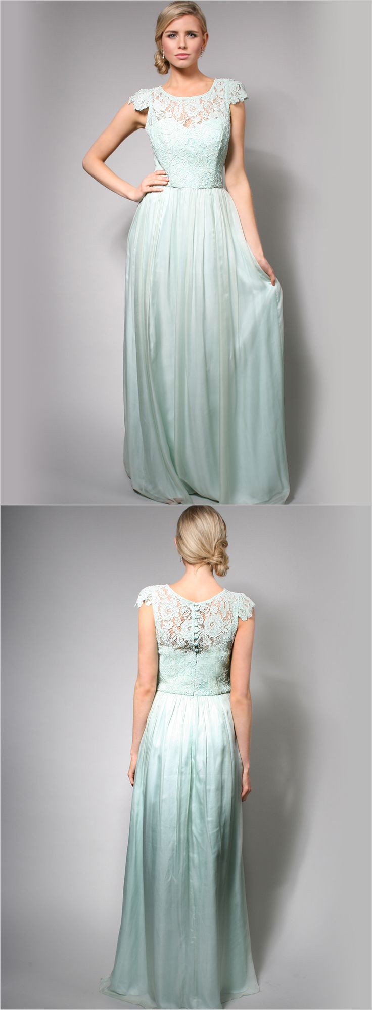 How tempting does this stunning mint wedding gown make it to go for a non traditional wedding gown? White Runway has it all! http://whiterunway.com.au/