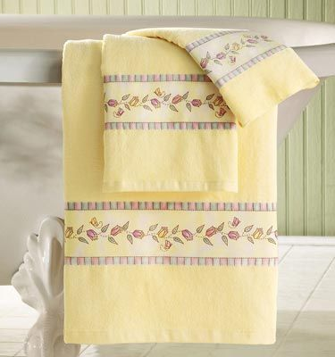 Decorative Bath Towel Sets 341 Best Bath Towels Images On Pinterest  Bath Linens Bathroom
