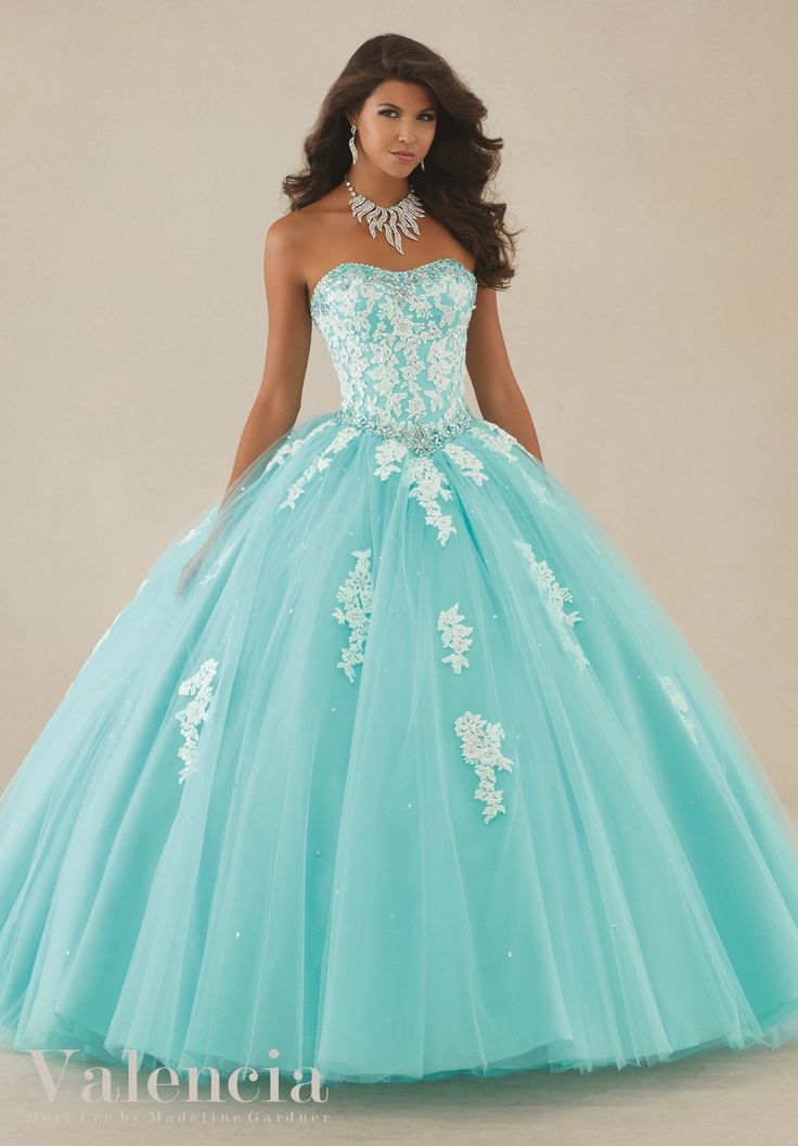 Mori Lee Valencia Quinceanera Dress 89086
