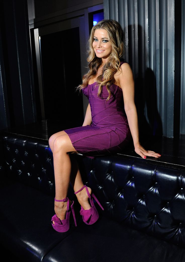 Carmen Electra Hot Stars Dress Heels Sexy Dresses